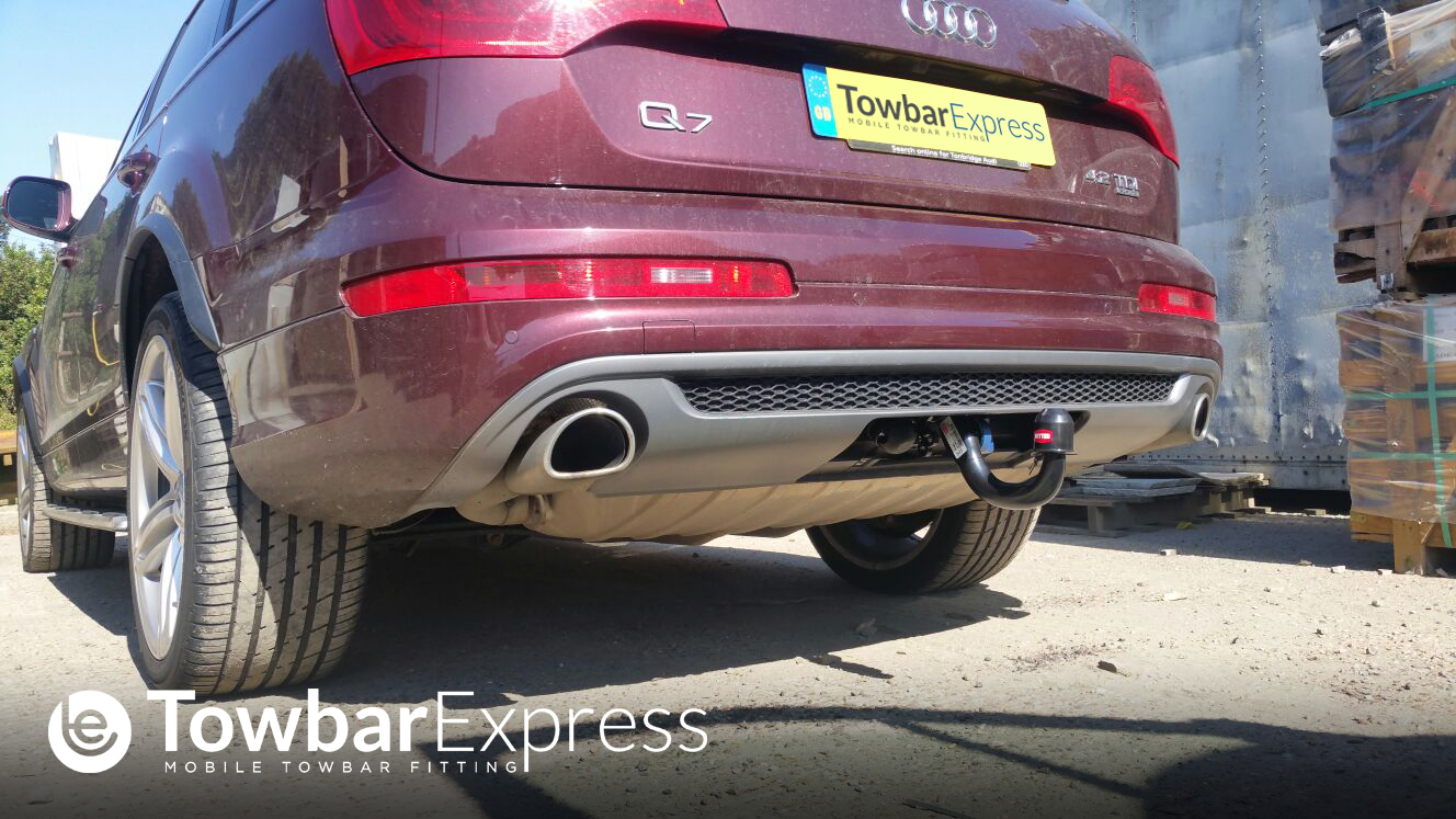 Audi Tow Bar Fitting