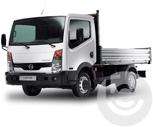 Flange Tow Bar Towbar for Nissan Cabstar Chassis Cab 2007-2014