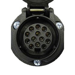 13 Pin Electric Socket