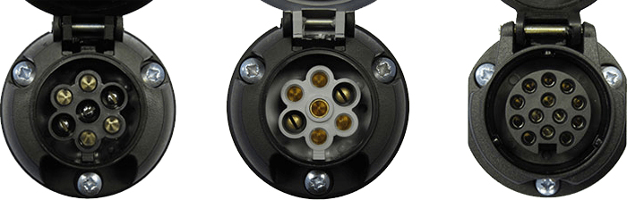 Towbar Electric Socket Types