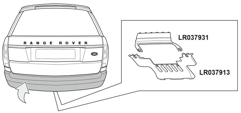 Land Rover bumper panels