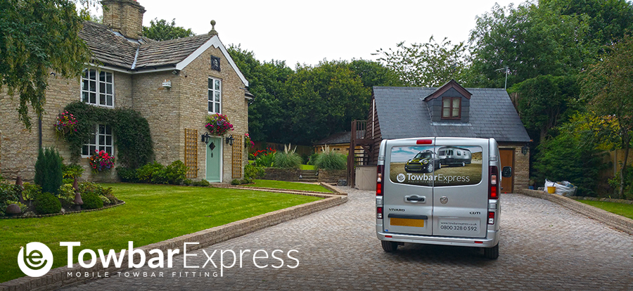 Towbar Express Van at Customers House