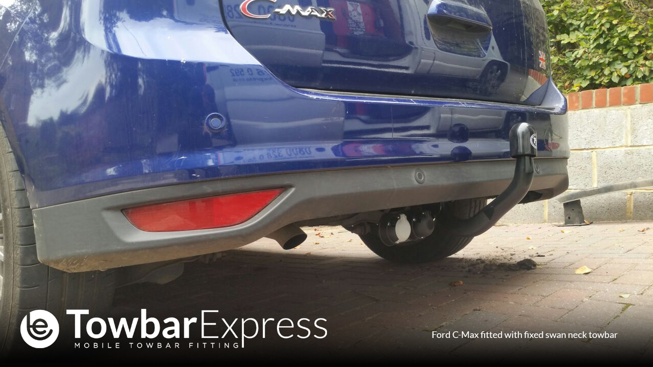 Ford C-Max Detachable Swan Neck Towbar
