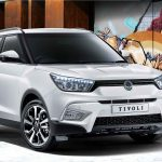 Towbars for the new Ssangyong Tivoli