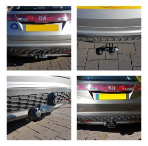 Fixed Flange Fitted Towbars