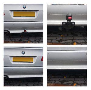 BMW Detachable Swan Neck Towbar