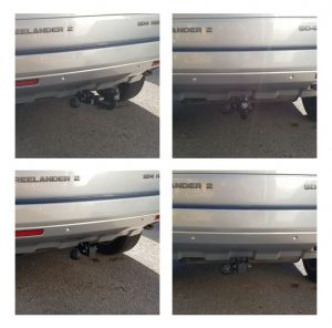 Detachable Swan Neck Fitted Towbars