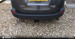 Toyota Rav 4 Detachable Flange Towbar