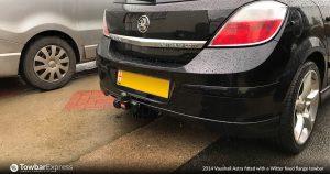 Vauxhall Astra fixed flange towbar