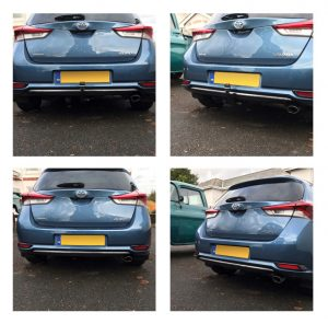 Toyota Detachable Swan Neck Towbar