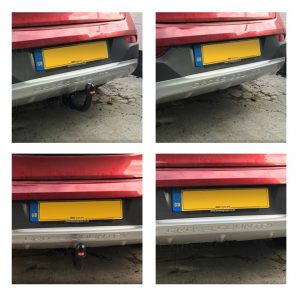 Swan Neck fitted towbars