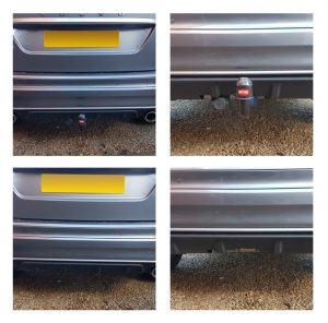 Volvo XC60 Detachable Swan Neck Towbar