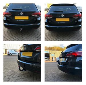 Vauxhall Astra Detachable Swan Neck Towbar