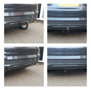 BMW X4 Detachable Swan Neck Fitted Towbars
