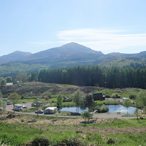 Travel with your caravan to Faichemard, Inverness-shire
