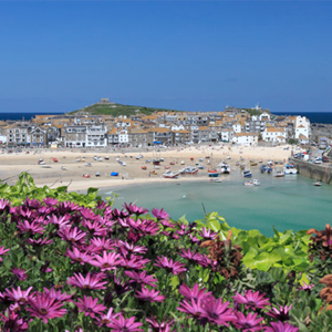 Travel with your caravan to Trevalgan Touring Park, Cornwall