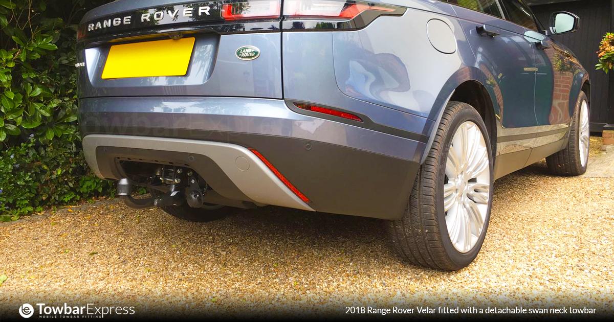 2018 Range Rover Velar detachable swan neck towbar