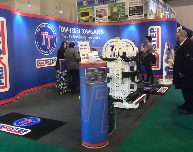 Tow Trust Towbars at the Caravan, Camping and Motorhome Show 2018